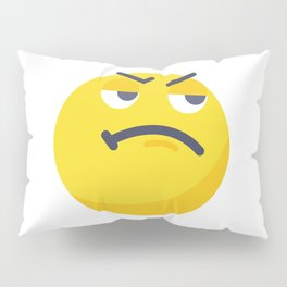 Like a Boss_emoji Pillow Sham