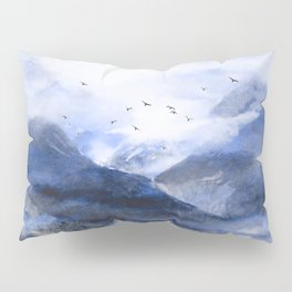 Blue Mountain Pillow Sham