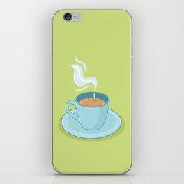 Hot Coffee, Not! iPhone Skin