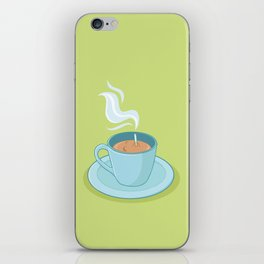 Hot Coffee, Not! iPhone Skin