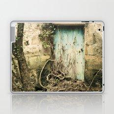 Puerta azul  Laptop & iPad Skin