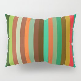 Lined Up Pillow Sham