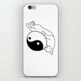 Zen Kitten iPhone Skin