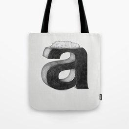Dissecting Typefaces - a  Tote Bag