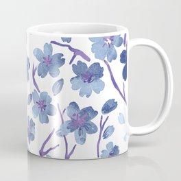 Blue Flowers 4 Coffee Mug