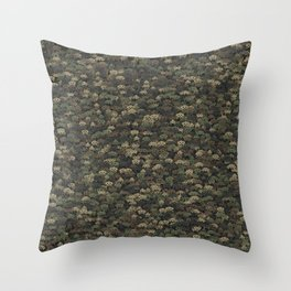 Invaders camouflage Throw Pillow
