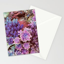 Succulent Garden View Stationery Cards