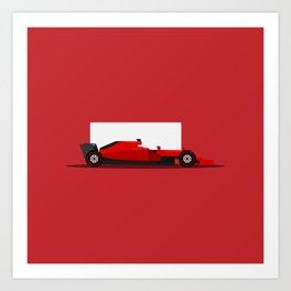 Racing Car Art Print