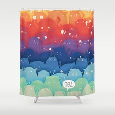 Cats Galore!  Shower Curtain