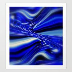 Code Blue Art Print