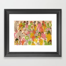 GOONS! Framed Art Print
