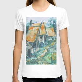 The houses along the road T-shirt