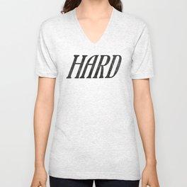 Hard Unisex V-Neck
