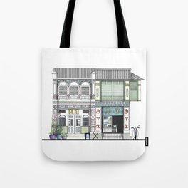 Penang Street Scene I Tote Bag
