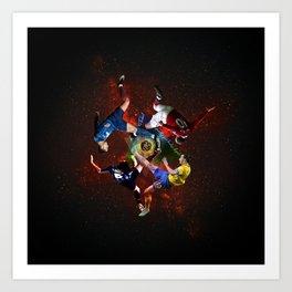 ◇ gravity zero timeless bycicles ◇ Art Print