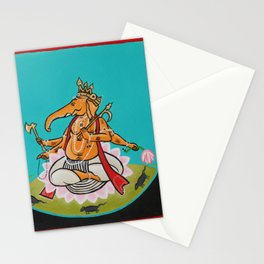 Wise Ganesh Stationery Cards