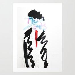 son of a man critique Art Print