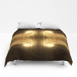 Golden Spiral Comforters
