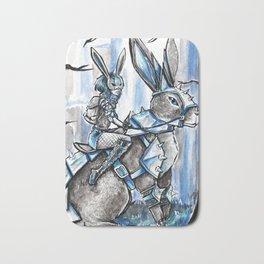 Apocolypse Bunny and Rabbit Girl Bath Mat