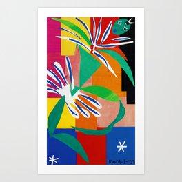 Henri Matisse - The Creole Dancer modernism portrait painting Art Print