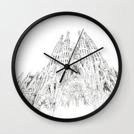Bcn 4 Wall Clock