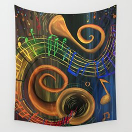 The ART of Music Wall Tapestry