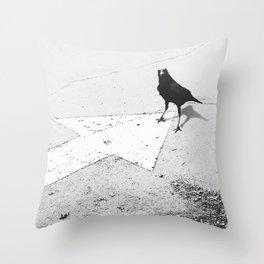 SUCCESS X MAGICK (B&W) Throw Pillow