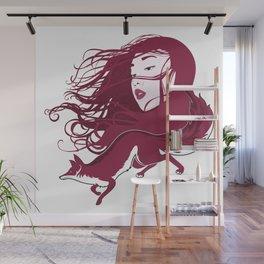 Kitsune Wall Mural