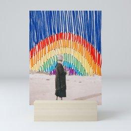 Searching for Rainbows Mini Art Print