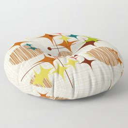 Starbursts and Globes Floor Pillow