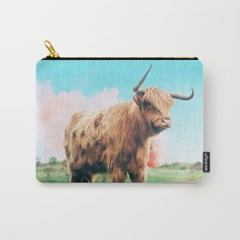 Highland Cow #society6 #decor #buyart Carry-All Pouch