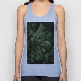Tropical leaves 02 Unisex Tank Top