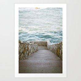Forty Steps Art Print