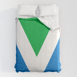 Official Vegan Flag Comforters