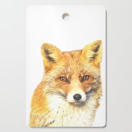 Fox Portrait Cutting Board