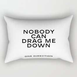One direction quote Quote Print Living Room Decor Valentine's Poster ONE DIRECTION ART Rectangular Pillow