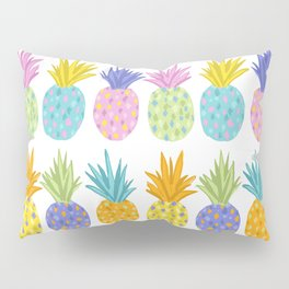 Colorful Pineapples Pillow Sham