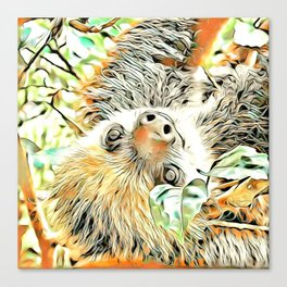 ArtAnimal Sloth II Canvas Print