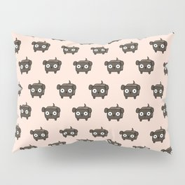 Pitbull Loaf- Brindle Pit Bull with Floppy Ears Pillow Sham