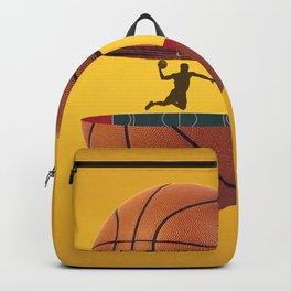 Basket Ball design Backpack