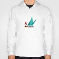 f1 Hoodies featuring F1 2015 - #6 Rosberg [v2] by MS80 Design