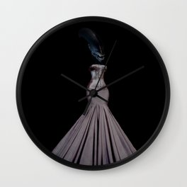 Aliens´ catwalk Wall Clock