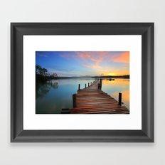 Lake Fantastic Framed Art Print