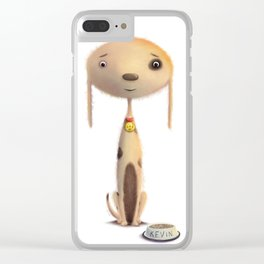 Good Doggie by dana alfonso Clear iPhone Case