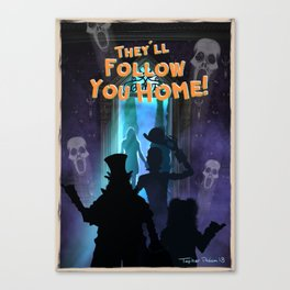 They'll Follow you Home by Topher Adam 2018 Canvas Print