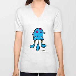 Squid Monster Unisex V-Neck