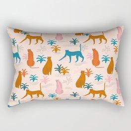 Rainbow cheetahs Rectangular Pillow
