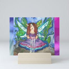 Lotus Seer Fairy Mini Art Print