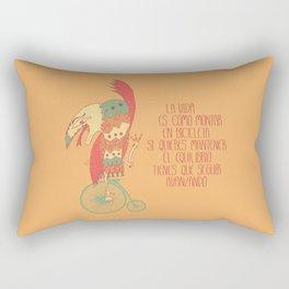 Seguir avanzando Rectangular Pillow
