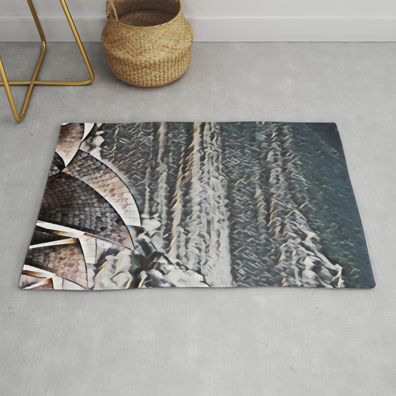 Sydney Opera House Rug By Nest Prints